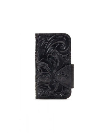 Brenna iPhone 10 Case - Tooled - Black