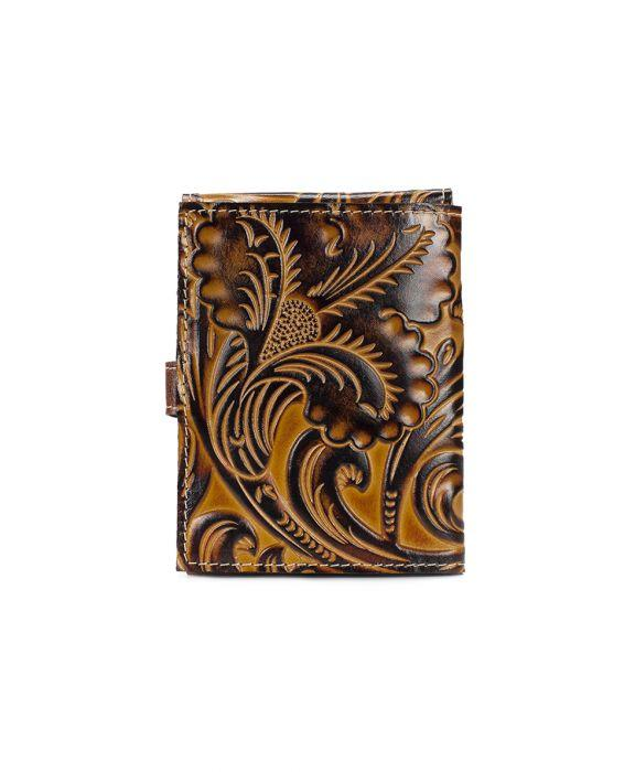 Passport Organizer - Tuscan Tooling 2