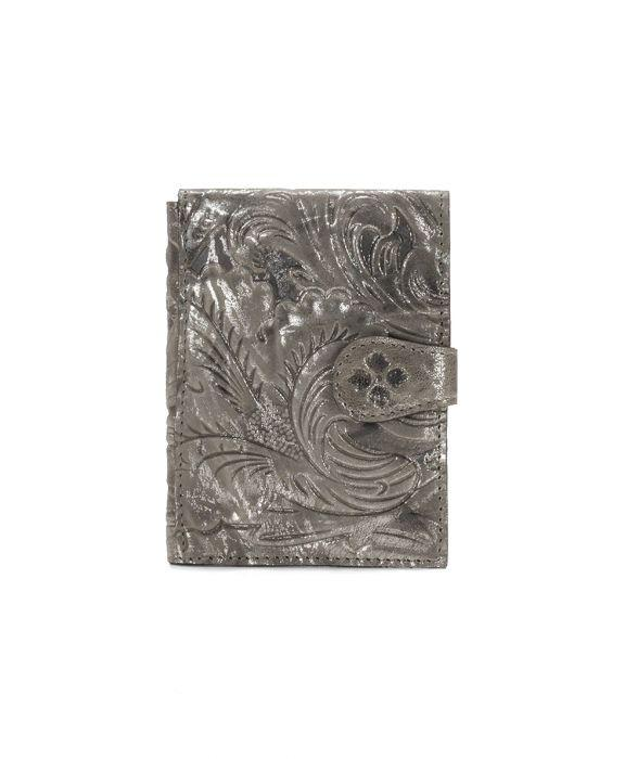 Passport Organizer - Glitter Metallic - Pewter