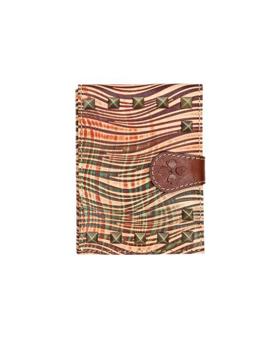Passport Organizer - Wavy Striped