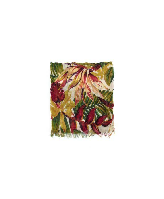 Scarf - Cuban Tropical Natural 2