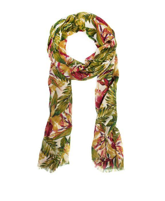 Scarf - Cuban Tropical Natural