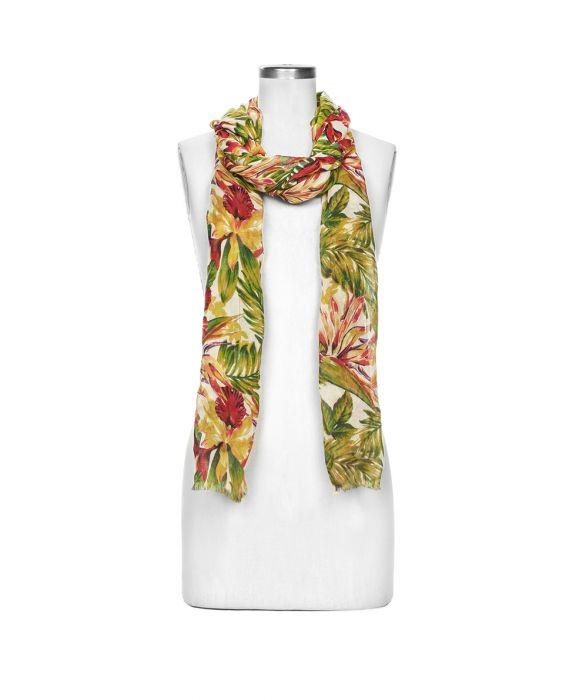 Scarf - Cuban Tropical Natural 3