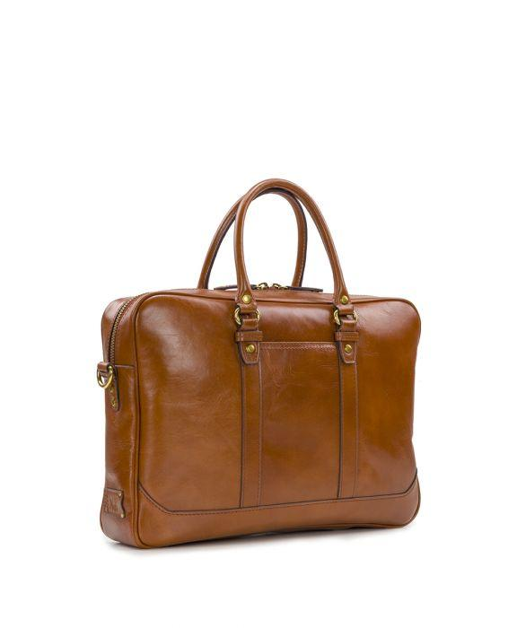 Slim Briefcase - Heritage II - Tan