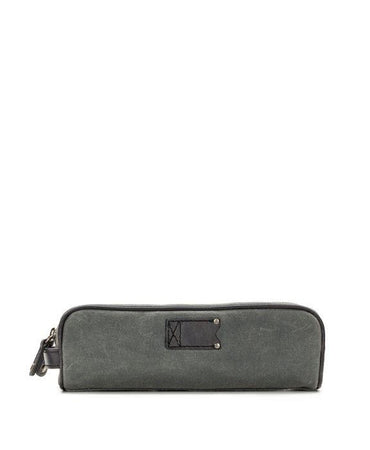 Travel Tech Kit - Roma Wax Canvas - Grey
