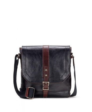 North/South Crossbody - Heritage II Black/Rust