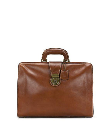 Heritage Slim Briefcase - Tan