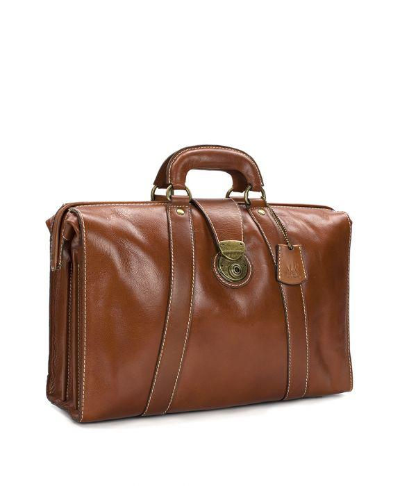 Heritage Lawyer's Briefcase - Tan