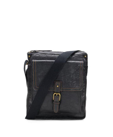Tuscan North/South Crossbody - Black
