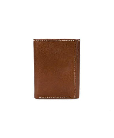 Trifold ID Wallet - Heritage - Tan