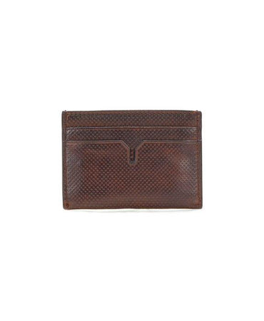Slim Card Case  - Strada - Brown