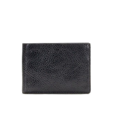 Double Billfold ID Wallet - Firenze Leather - Black