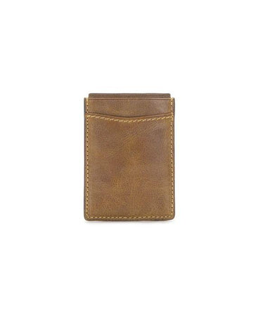 Corsica - Magnetic Money Clip card Case Cognac