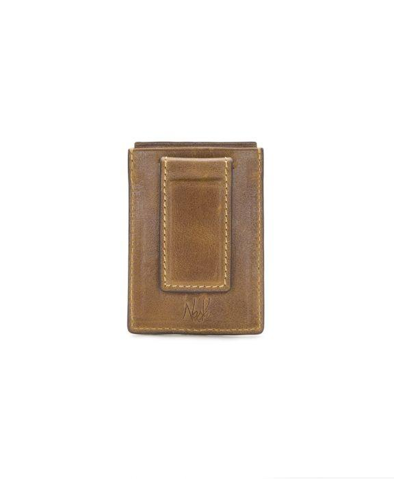 Corsica - Magnetic Money Clip card Case Cognac 2