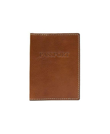 Heritage Passport Case - Tan