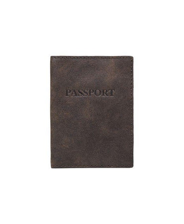 Tuscan Passport Case - Chocolate