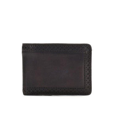 Double Billfold Wallet - Heritage - Chocolate
