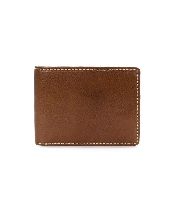 Gusseted Card Case - Heritage - Tan