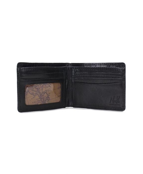 Gusseted Card Case - Heritage - Black