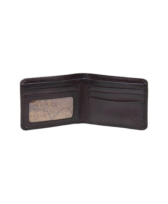 Roma Double Billfold - Chocolate
