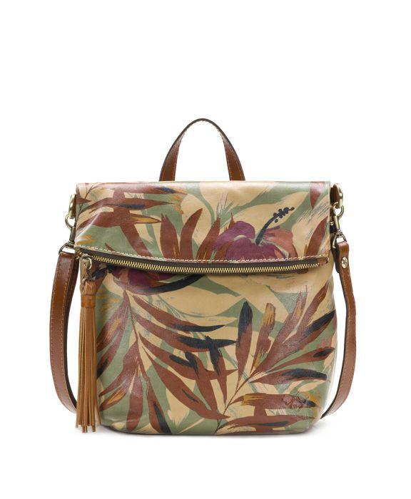 Luzille Backpack - Palm Leaves