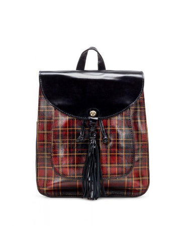 Jovanna Backpack - Tartan Plaid
