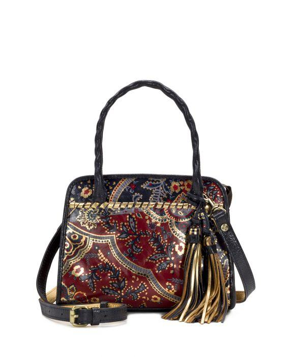 Paris Small Satchel - Provencal Escape 1