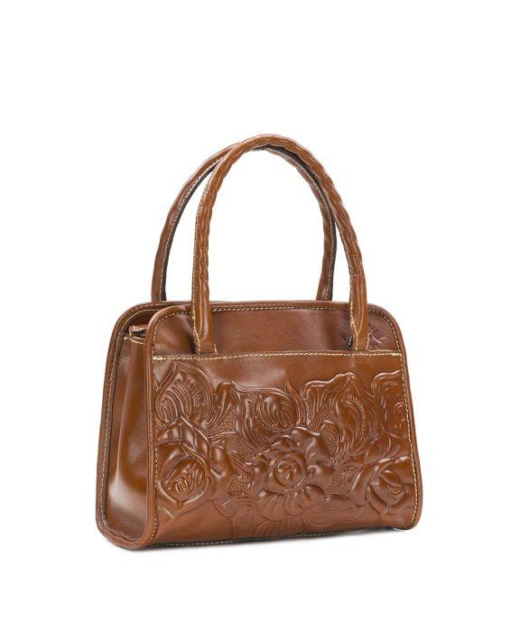 Paris Small Satchel - Tooled 2