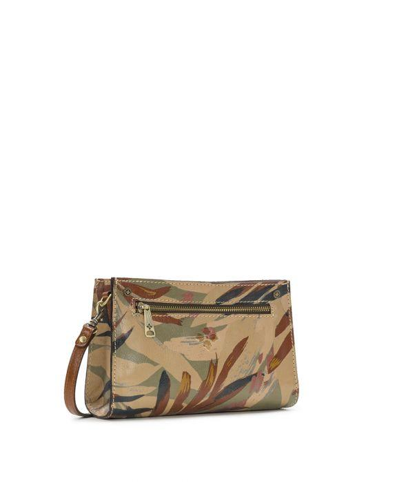 Turati Small Top Zip - Palm leaves 4