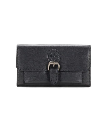 Bice Buckle Wallet - Heritage - Black