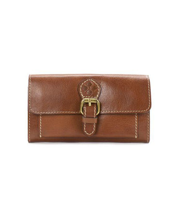 Bice Buckle Wallet - Heritage - Tan