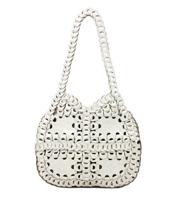 Giraldi Hobo Chainlink - White