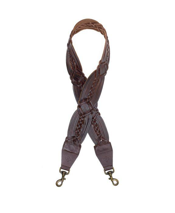 Bella Vista Strap Braided Brown