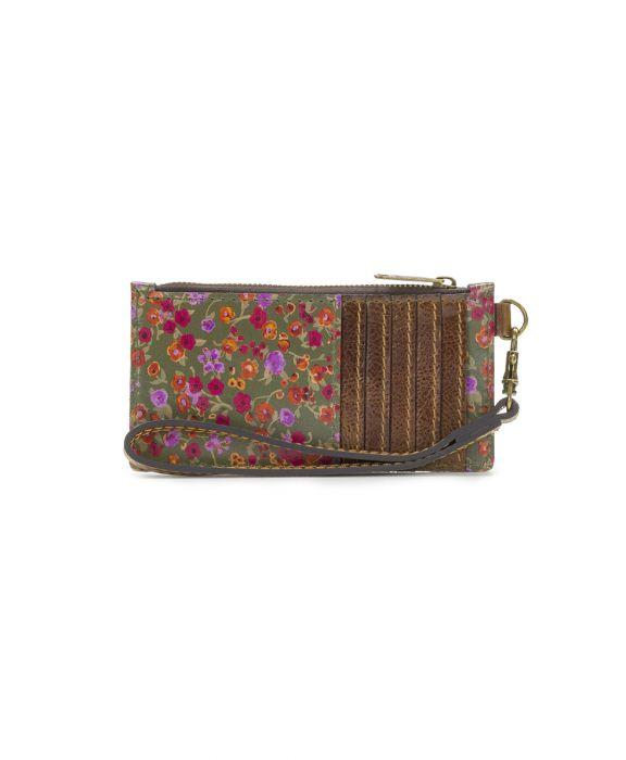 Almeria Credit Card Wristlet - Peruvian Fields 1