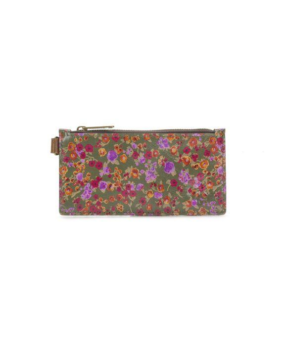 Almeria Credit Card Wristlet - Peruvian Fields 2