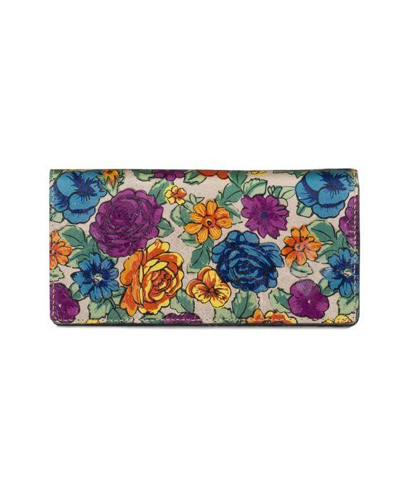 Floriana Clutch Wallet -Spanish Villa