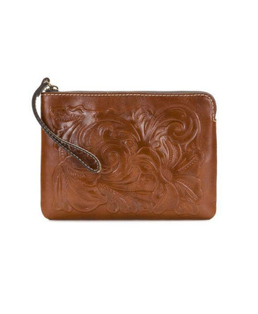 Cassini Wristlet - Tooled - Florence