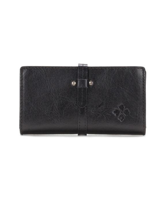 Nevola Checkbook Case - Heritage - Black