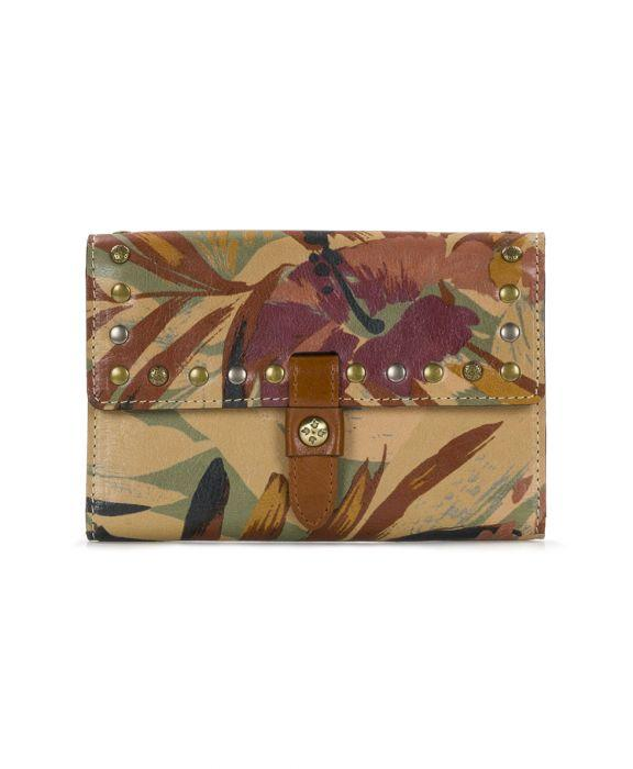 Colli Flap Wallet -Palm Leaves