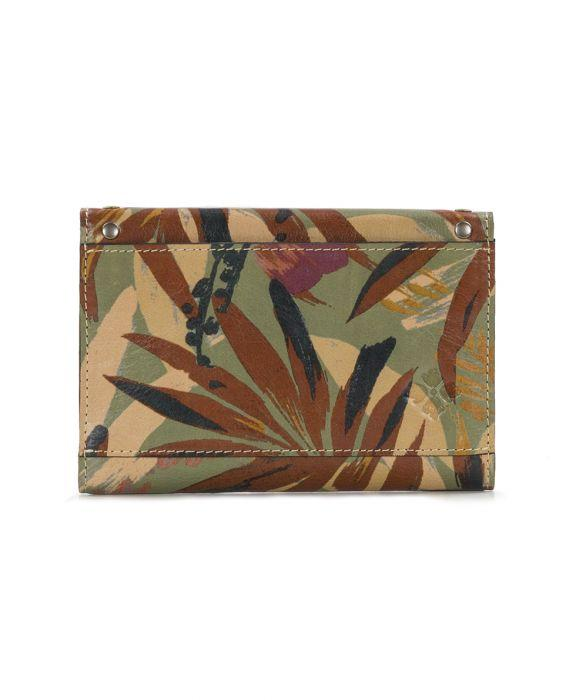 Colli Flap Wallet -Palm Leaves 2