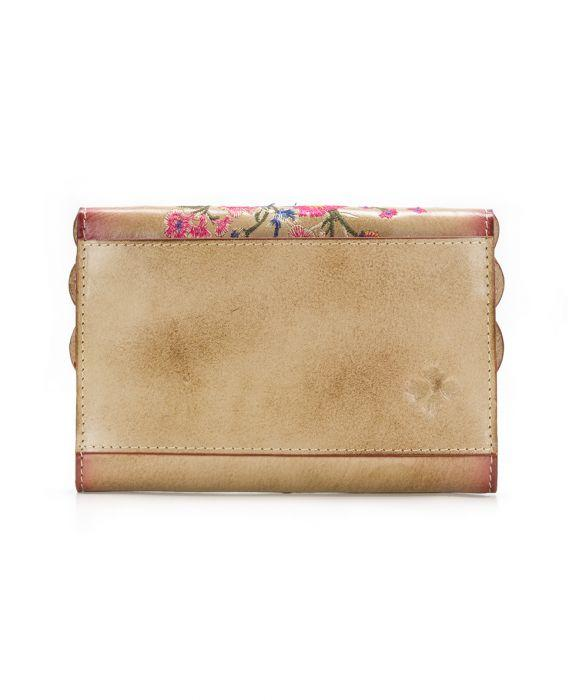 Colli Flap Wallet - Prairie Rose Embroidery - Colli Flap Wallet - Prairie Rose Embroidery