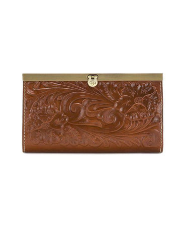 Cauchy Wallet - Tooled - Florence