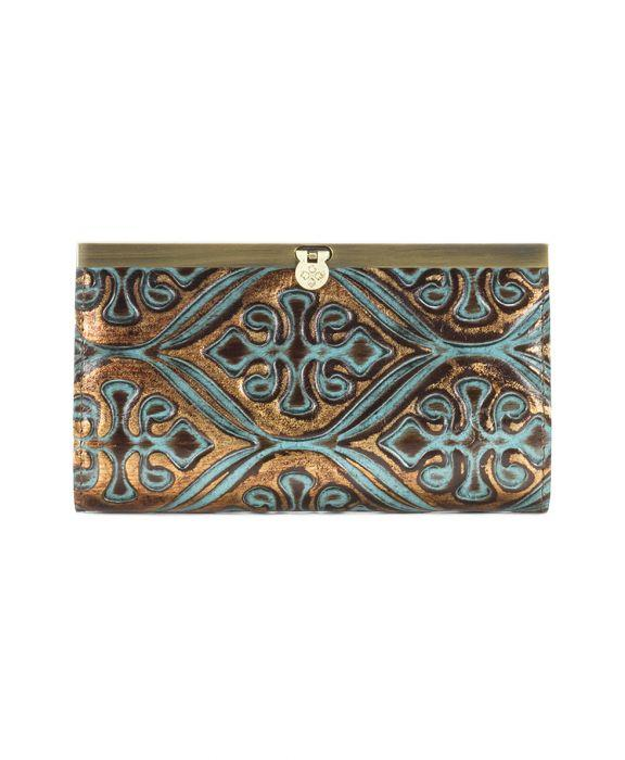 Cauchy Wallet Venetian Turquoise