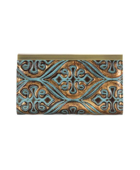 Cauchy Wallet Venetian Turquoise 2