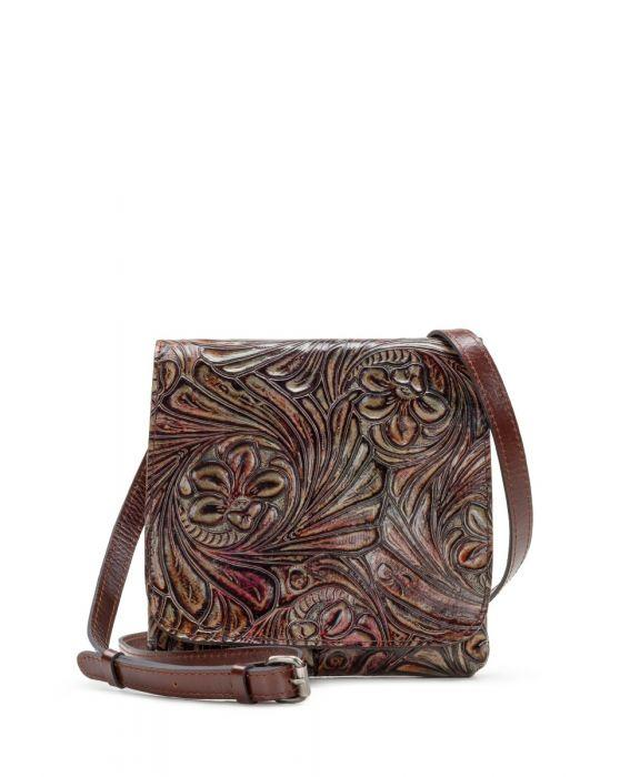 Granada Crossbody - Metallic Tobacco Fields Multi