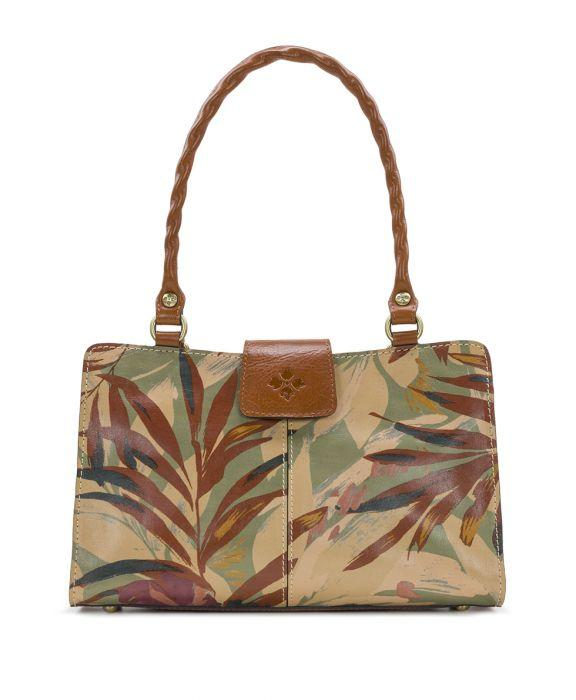 Rienzo Satchel - Palm Leaves