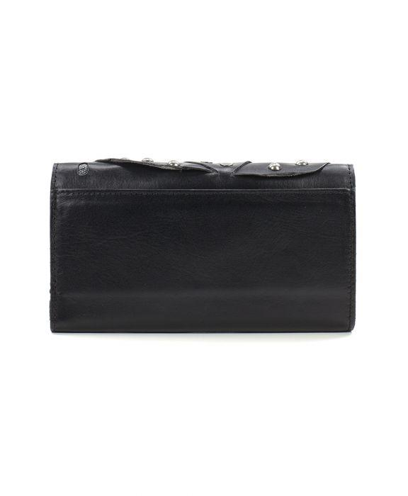 Terresa Wallet Studded Link - Black 2