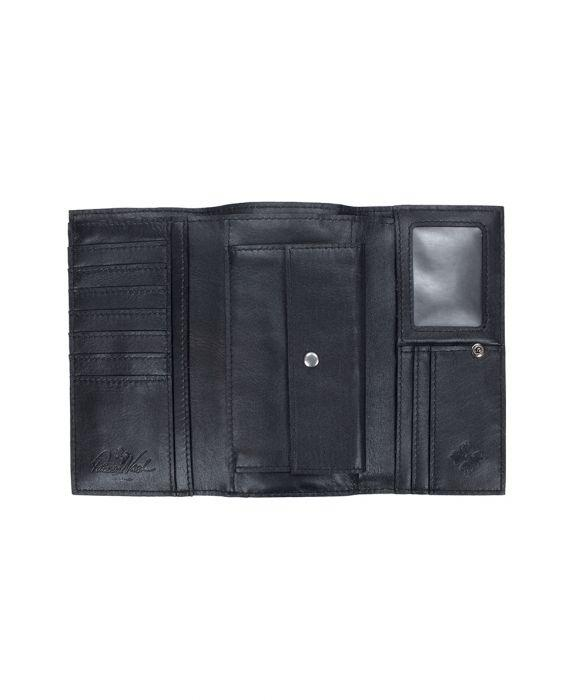 Terresa Wallet Studded Link - Black 3