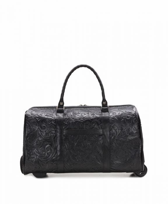 Avola Trolley - Tooled - Black