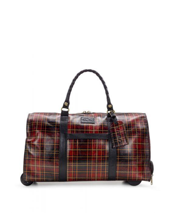 Avola Trolley - Tartan Plaid
